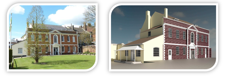 Recent Project undertaken by Stanburys Surveying Services - Priory House Dunstable Laser Scanning and Modelling